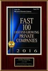 Houston Business Journal - Fast 100